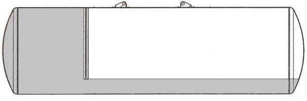 Säiliössä on vakiona painonsiirtojärjestelmä riittävän aisapainon takaamiseksi; säiliön etuosa on osastoitu ja se saa korvausilmaa vasta, kun takaosa on tyhjentynyt.